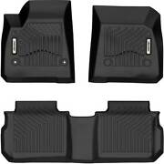 Oedro Floor Mats Liners Tpe Fit For 2017-2021 Cadillac Xt5 All-weather Black