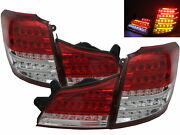 Liberty Bm/br Mk5 2009-2014 Wagon 5d Led Feux Arriere Red/clear Us For Subaru