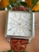 Marvin Watch Carre Chronograph Lemania Lwo 1873 Limited Edition Ref.9010001 Mens