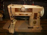 Vintage Singer Model 401a Slant-o-matic Domestic Sewing Machine. For Parts.