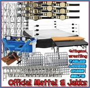 Official Wwe Mattel Jakks Wrestling Accessories Belts And Rings - Your Choice Toy