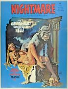 Mm Nightmare 17vf Skywald, 1970 Christopher Lee Interview