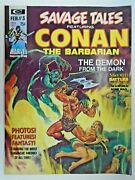Mm Savage Tales 3nm- Bws Red Nails Concludes Classic Conan