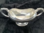 Omar Ramsden Arts And Crafts Raised Silver Sugar Basin Of Exceptional Quality 1931