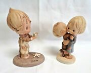 2 Vintage Goebel Germany Betsy Clark 5.5 And Friends 4.75 1972 Figurines