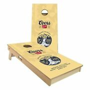 Coors Banquet Beer Cornhole Board Set - 2 Sizes + Many Options Available