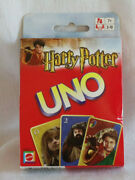 Harry Potter Uno Card Game 2003 Mattel Inc New And Sealed