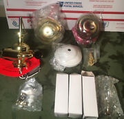 Casablanca 3 Light Fitter Kg210, Bulbs, Retainers, Pull Chain Fan Parts New