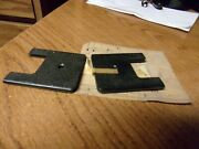 2 Nos Chevrolet Buick Oldsmobile Carpet Retainer And Adjuster Cover 4464905