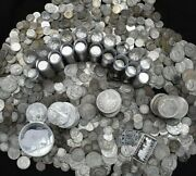 Silver Coins Old Collection Silver Dollar Bullion Us 90 Estate Lot