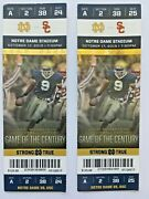 2 Usc At Notre Dame Football Tickets October 17 2015