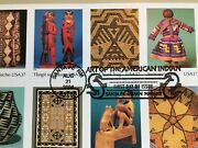 2004 Art Of The American Indian First Day Of Issue Stamp Sheet Collectible