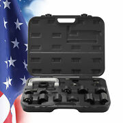 Premium Ball Joint Service Toolandmaster Adapter Set W. Carrying Case Black