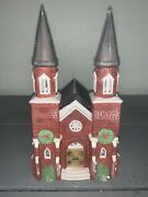 Dept 56 The Heritage Collection Dickens Village Series Brick Abbey 65498 Retired