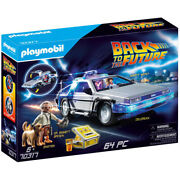 Playmobil Back To The Future Delorean - Brand New And Sealed