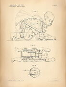 336271 Of Patent Wind Up Walk Toy Office Design Print Poster Fr