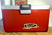 Vintage 1950andrsquos Thermaster Refrigerator Camping Cooler Ice Chest Poloron 2 Restor