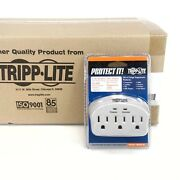 Lot Of 209 Tripp-lite 3 Ac Outlets Direct Surge Protector Sk3-0 - New Sealed