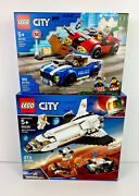 Lego City Space Mars Research Shuttle Kit /lego City Police Highway Arrest Lot 2