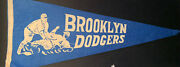 Vintage 1940andrsquos Brooklyn Dodgers Blue Pennant