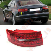Fit For Audi A6 2009-2011 Left Inside Without The Bulb Tail Light Brake Light