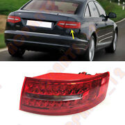 Fit For Audi A6 2009-2011 Right Outside Without The Bulb Tail Light Brake Light