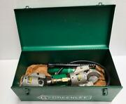 Greenlee 750h767 Hydraulique Candacircble Coupeur Avec Main Pompe And Extra Coupeur Tandecircte