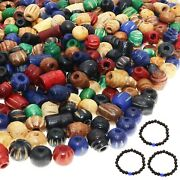 1500 Pcs Artisan Wooden Beads For Jewelry Making