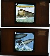 21 Plates For Lantern Magique. Subjects Aircraft Manuals Balloon And Airships