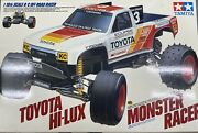 Tamiya 1/10th Scale Toyota Hilux Monster Racer 58086 Vintage