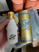 White Jeans Edt 2.5oz By Versace Vintage Discontinued