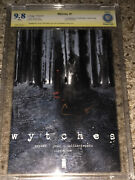 Wytches 1 9.8 Cbcs 9.8 Signed By Scott Snyder/not Cgc Ss
