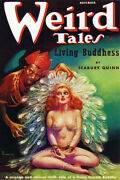 Weird Tales Vintage Science Fiction And Fantasy Sci Fi Book Cover Art Poster