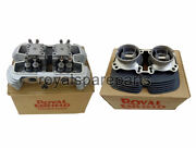 Royal Enfield Gt 650 And Interceptor 650 Cylinder Head With Barrel Assembly