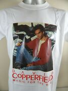 Vintage David Copperfield Magic For The 90s Single Stitch Large T Shirt Magician