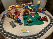 Lego Duplo - Railroad And Farm - Big Lot - See Pictures - Good Condition