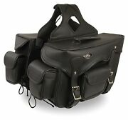 Throw Over Waterproof Saddle Bag For Harley Davidson Dyna Series Motorcycles Hd1