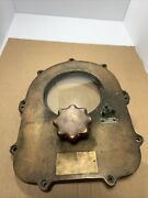 United States Navy Bell Signal Device Door Brass