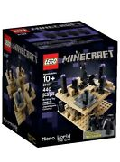 Lego Minecraft Micro World - The End 21107 Discontinued By Manufacturer A