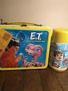 E.t. Collectible Vintage 1982 Metal Lunch Box Nwt