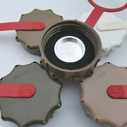 Scepter Military Fuel Can Mfc Cap Assembly - Brown Shell Aluminum Flange...