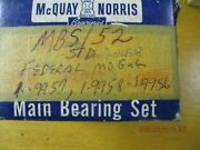 Main Bearing Set Std Size 1940 - 1971 Henry J Willys Allstate And Ford Jeep