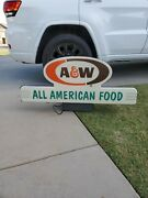 A+w Rootbeer Soda Advertising