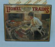 1926 Lionel Electric Trains Great American Railways Catalog Cover Metal Tin Sign