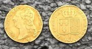French Gold Coin Louis Xvi Limoges 1788