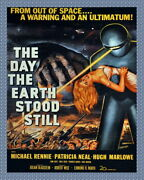 332482 Movie Design The Day Earth Stood Still Print Poster Ca