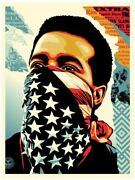 Shepard Fairey American Rage Signed Numbered Rare Obey Giant Poster Prints