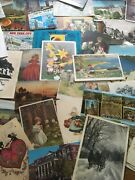 Vintage Lot Of 100 Plus Post Cards 1930andrsquos Through The 1970andrsquos