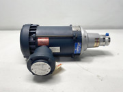 Micropump Stainless Magnetic Drive Gear Pump Gc-m25.pds.e-n3 Leeson 1/2hp Motor