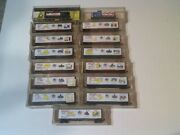 Kadee Bicentennial N Gauge Set Of 13 Boxcars And 2 Cabooses - Never Used